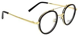 Zyaden Black Round Eyewear Frame 118