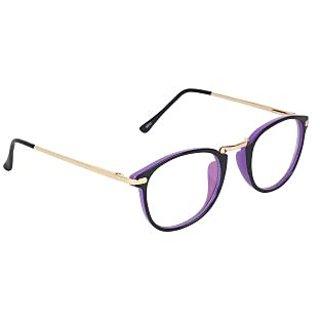 Zyaden Purple Round Eyewear Frame 215