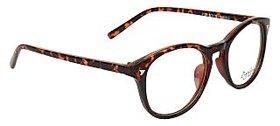 Zyaden Brown  Round Eyewear Frame 134
