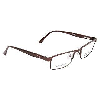 Zyaden Brown Rectangle Eyewear Frame 128