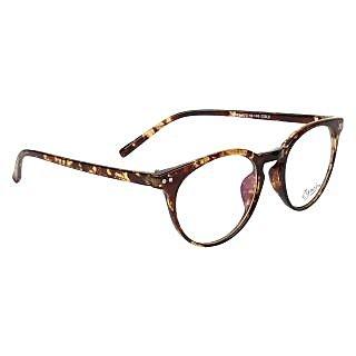 Zyaden Brown Round Eyewear Frame 133