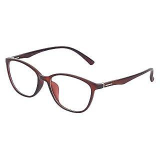 Zyaden Brown Rectangle Eyewear Frame 244