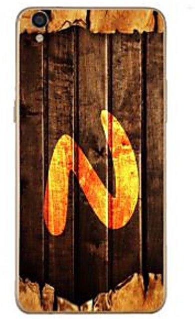 Buy Fuson Designer Phone Back Case Cover Oppo F1 Plus Letter N Monogram On Wood Online 499 From Shopclues