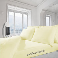 Sweet Home 100% Cotton Double Bed Sheet With 2 Pillow Cover 24