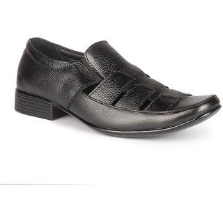 Leather King Men Formal Shoe Collins Black