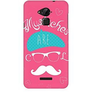 RAYITE Mustaches Are Cool Premium Printed Mobile Back Case Cover For Coolpad Note 3