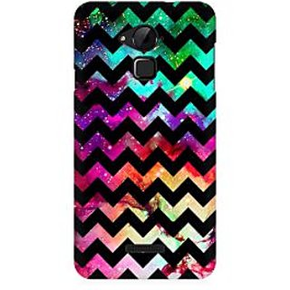RAYITE Galaxy Chevron Art Premium Printed Mobile Back Case Cover For Coolpad Note 3