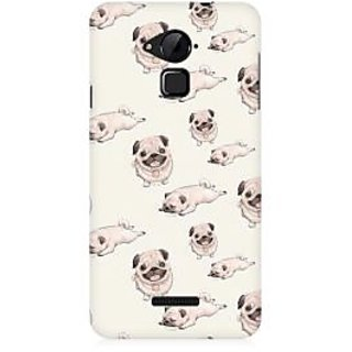 RAYITE Pug Pattern Premium Printed Mobile Back Case Cover For Coolpad Note 3