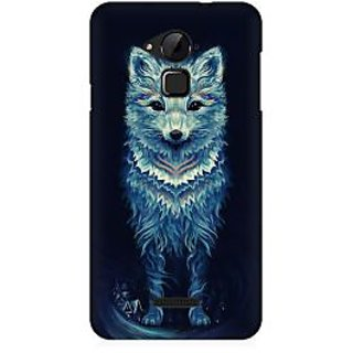 RAYITE Geometric Fox Art Premium Printed Mobile Back Case Cover For Coolpad Note 3