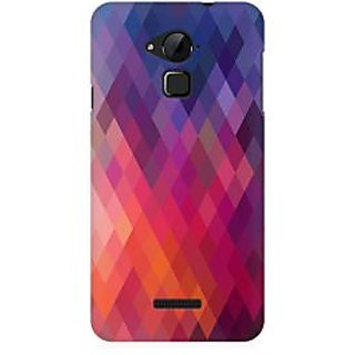 RAYITE Colourful Aztec Premium Printed Mobile Back Case Cover For Coolpad Note 3