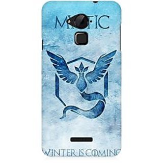 RAYITE Mystic Winter Is Coming Premium Printed Mobile Back Case Cover For Coolpad Note 3