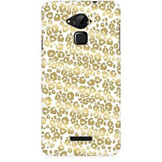 RAYITE Golden Cheetah Pattern Premium Printed Mobile Back Case Cover For Coolpad Note 3