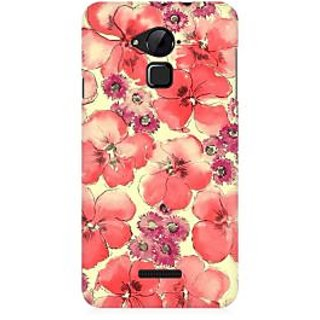 RAYITE Watercolor Flower Abstract Premium Printed Mobile Back Case Cover For Coolpad Note 3