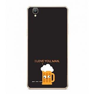 Fuson Designer Phone Back Case Cover Oppo F1 ( Mug Of Beer To Drink )