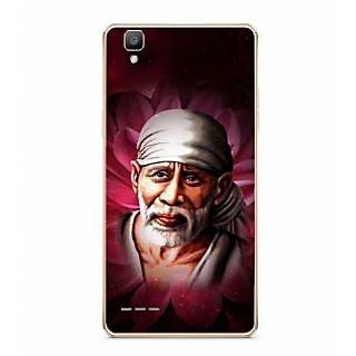 Fuson Designer Phone Back Case Cover Oppo F1 ( Illustration Of Sai Baba )