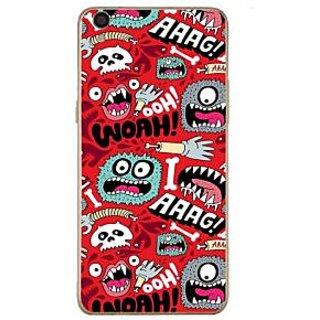 Fuson Designer Phone Back Case Cover Oppo F1 Plus ( Cute Ghost Comic Illustration )