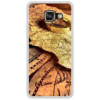 Fuson Designer Phone Back Case Cover Samsung Galaxy A7 (6) 2016 ( Maps With A Magnifying Glass )