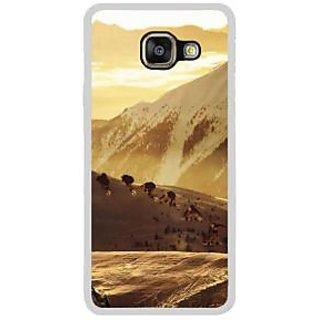 Fuson Designer Phone Back Case Cover Samsung Galaxy A7 (6) 2016 ( Mountain Side Scenery Artistic Photograph )