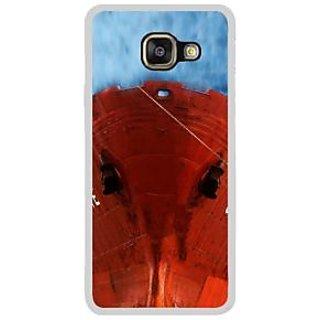 Fuson Designer Phone Back Case Cover Samsung Galaxy A7 (6) 2016 ( The Hulk Of A Ship )
