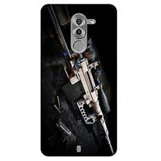 Go Hooked Designer Soft Back Cover For HONOR 6X + Free Mobile Stand (Assorted Design)