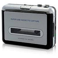 USB Cassette Player And Tape-to-MP3 Converter