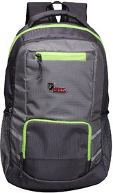 F Gear Intellect 30 Liters Laptop Backpack (Grey)