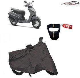 De Autocare Premium Grey Matty Two Wheeler Scooty Body Cover For Honda Acti