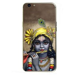 Fuson Designer Phone Back Case Cover Oppo F1s ( Lord Krishna Playing The Flute )
