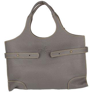 Pingooz Grey Plain Handbag