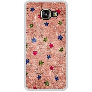 Fuson Designer Phone Back Case Cover Samsung Galaxy A5 (6) 2016 ( Glitters Of Stars Sprayed Around )
