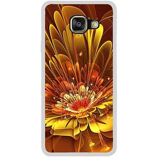 Fuson Designer Phone Back Case Cover Samsung Galaxy A7 (6) 2016 ( Colourful Patterns In The Flower )