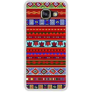 Fuson Designer Phone Back Case Cover Samsung Galaxy A3 (6) 2016 ( Bordering Designs )