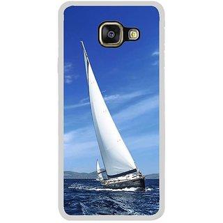 Fuson Designer Phone Back Case Cover Samsung Galaxy A5 (6) 2016 ( Catamaran Is Fun )
