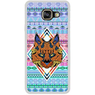 Fuson Designer Phone Back Case Cover Samsung Galaxy A5 (6) 2016 ( Wolf'S Head On Display )
