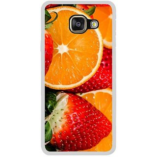 Fuson Designer Phone Back Case Cover Samsung Galaxy A3 (6) 2016 ( Fresh Fruits And Berries )