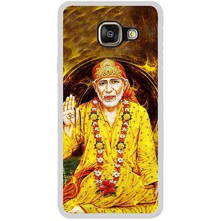 Fuson Designer Phone Back Case Cover Samsung Galaxy A3 (6) 2016 ( Sai Baba Sitting )