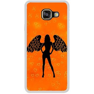 Fuson Designer Phone Back Case Cover Samsung Galaxy A5 (6) 2016 ( Wings Of Power )