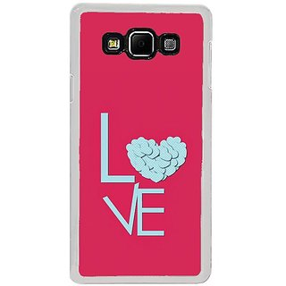 Fuson Designer Phone Back Case Cover Samsung Galaxy A8 (2015) ( Overflowing Love )
