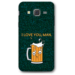 Samsung Galaxy J5 2015 Designer Hard-Plastic Phone Cover From Print Opera - Cup Of Beer