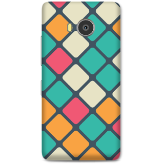 Lenovo A7700 Designer Hard-Plastic Phone Cover From Print Opera -Colored Pattern