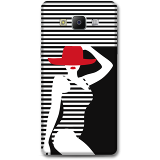 Samsung Galaxy A5 2014 Designer Hard-Plastic Phone Cover From Print Opera - Beach Girl