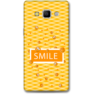 Samsung Galaxy A7 2015 Designer Hard-Plastic Phone Cover From Print Opera - Smilies