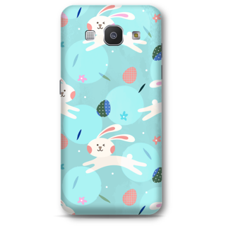 Samsung Galaxy A8 2015 Designer Hard-Plastic Phone Cover From Print Opera - Floral Rabbit