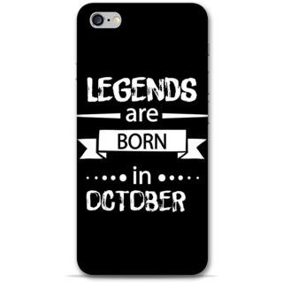 IPhone 6-6s Plus Designer Hard-Plastic Phone Cover From Print Opera -October Born