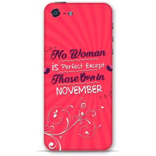 IPhone 5-5s Designer Hard-Plastic Phone Cover From Print Opera -Perfect Women Born In November