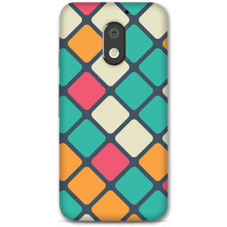 Moto E3 Power Designer Hard-Plastic Phone Cover From Print Opera -Colored Pattern