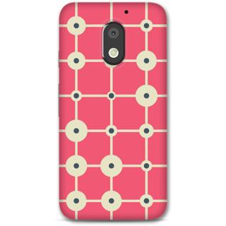 Moto E3 Power Designer Hard-Plastic Phone Cover From Print Opera -Pacman