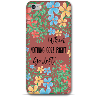 IPhone 6-6s Plus Designer Hard-Plastic Phone Cover From Print Opera - Nothing Goes Right Take Left