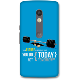 Moto X Play Designer Hard-Plastic Phone Cover From Print Opera -Your Future Is Created By What