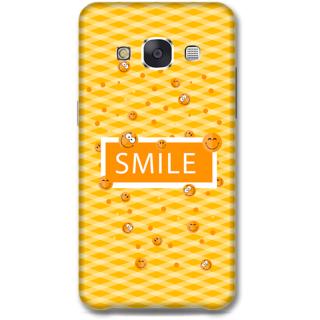 Samsung Galaxy E7 Designer Hard-Plastic Phone Cover From Print Opera - Smilies